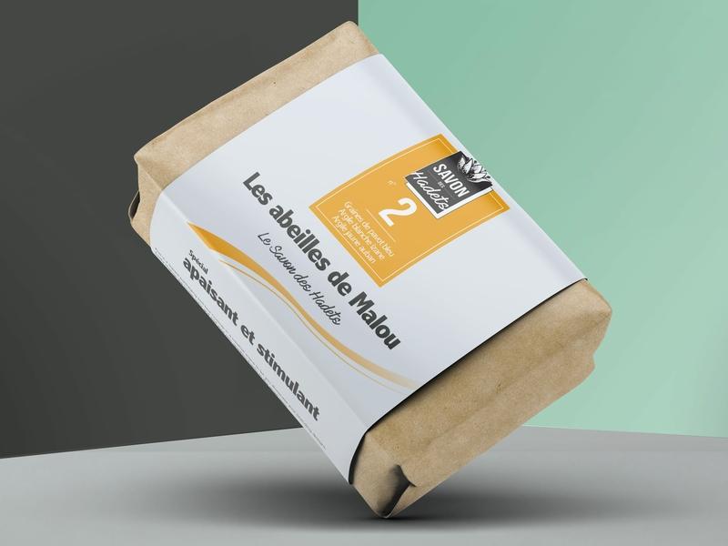 Packaging Soap Concept 2 Savon des Hadets soapbox soap illustration design packaging mockup