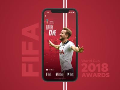 FIFA WC 2018 App Concept