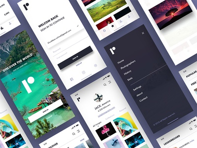 Photography App concept
