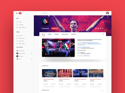 YouTube redesign redesign youtube webui