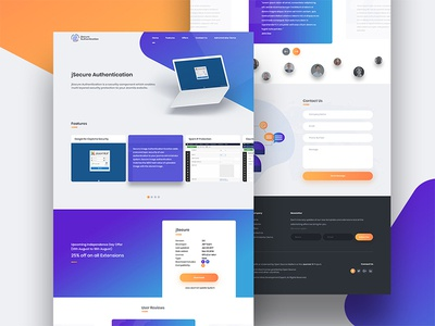 Extension demo design gradient demo ui design