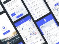 Fual map app design concept