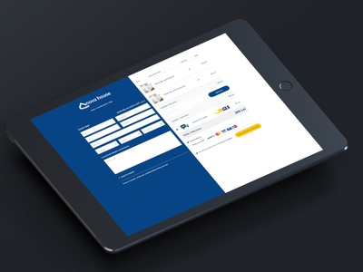 Checkout Page Design branding web design