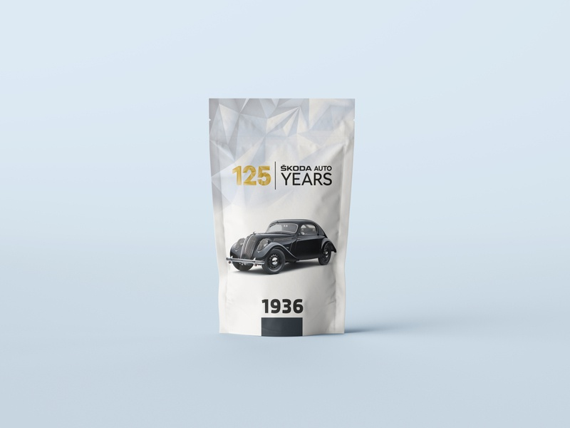 Packaging Design for Skoda - 125 Years years 125 skoda design packaging package design package