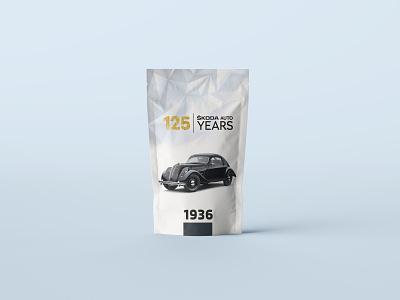 Packaging Design for Skoda - 125 Years years 125 skoda design packaging package design package