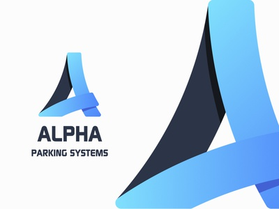 Construction Logo systems blue logo construction parking