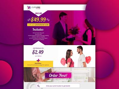 Landing page design jobs web design landing page