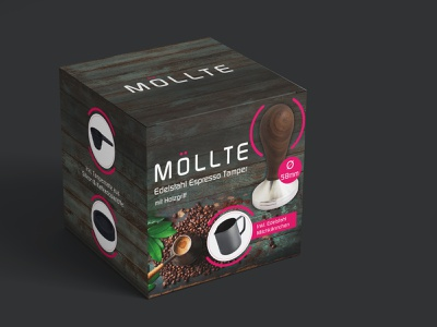 Espresso Tamper Box Packaging Design espresso tamper coffee package design packaging box