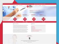 UI/UX Design - Medical Website