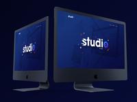 Studio, new concept, website design