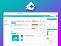 Webapp Dashboard UX/UI Design