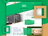 Container Home - Website design