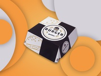 Packaging design - burger box