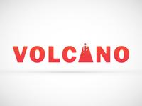 Logo Volcano Concept