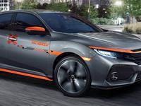 Honda Civic 2018 branding