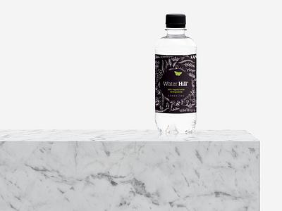 Water Label Design vector label branding bottle water design