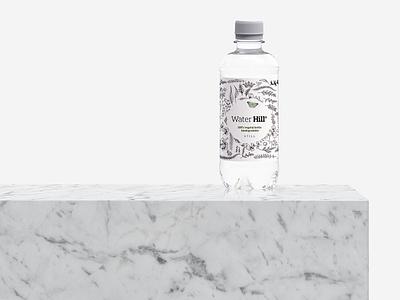 Label Design - Water Bottle illustration branding print label bottle water design