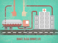 Donate Blood Donate Life