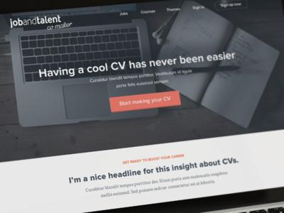 CV Maker Web App