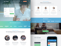 Jobandtalent landing redesign - Find the job of your dreams