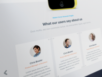 What our users say about us - Testimonials