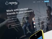Referfy.com Landing Page