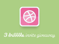3 Free Dribbble Invite Giveaway
