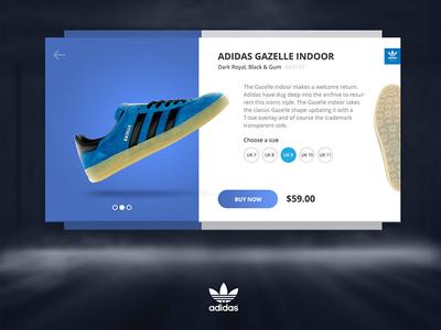 Adidas Gazelle Product Card