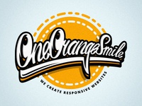 T-shirt logo by OneOrangeSmile