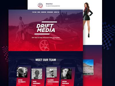 DriftMedia Team design driftmedia sport girl california los angeles racer 370z nissan cars race drift