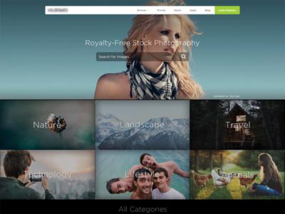 Stock Photo Concept  webdesign photography fashion branding stockimage ui website