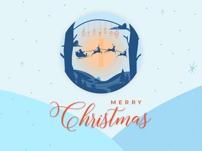 Merry Christmas merry christmas ui website design web design agency illustration creative banner chrismas merrychristmas