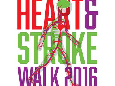 Heart & Stroke Walk Logo 02
