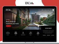 Ekcan Business Group UI & UX Web Design