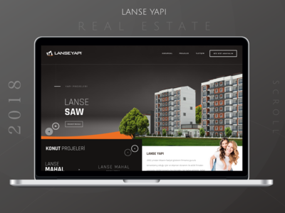 Real Estate Web UI Design