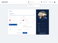 Dashboard UI & UX Template