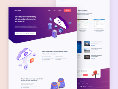 Cloud Services / Landing Page