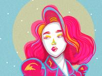 Look At Me design art colors art illustration