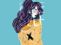 Self Portrait design portrait illustration