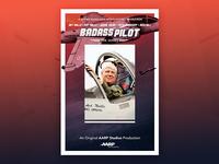 Badass Pilot - Poster