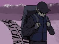 Hiker Illustration
