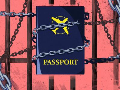 Passport chained