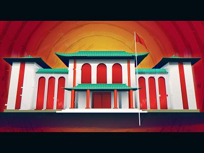 Chinese Consulate Scam digital editorial photoshop illustration illustrator