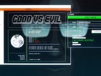 Hacker Screen - Selected