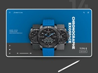 Breitling landing page concept