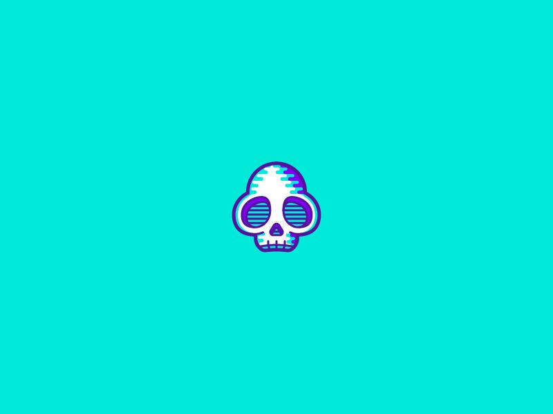 Wily Castle Skull flat capcom megaman video games illustration