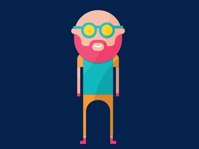 myCowo Infographic Illustrations rome infographic flat character coworking desk bald specs