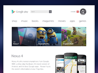 Pixels google play store redesign