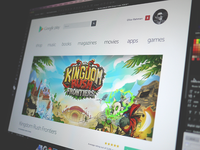 Google Play Store App Page Redesign