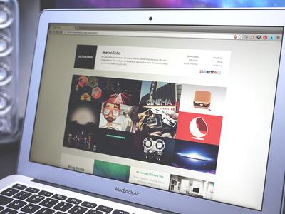 MetroFolio - WordPress Portfolio Theme